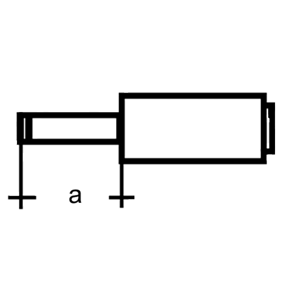 DC muški konektor 5,5mm